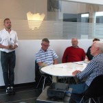 Billede 2 - Dragørs Borgmester, Eik Dahl Bidstrup, bød deltagerne velkommen