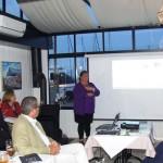 Marlene Hassel fremlægger oplæg om by- og centrumudvikling